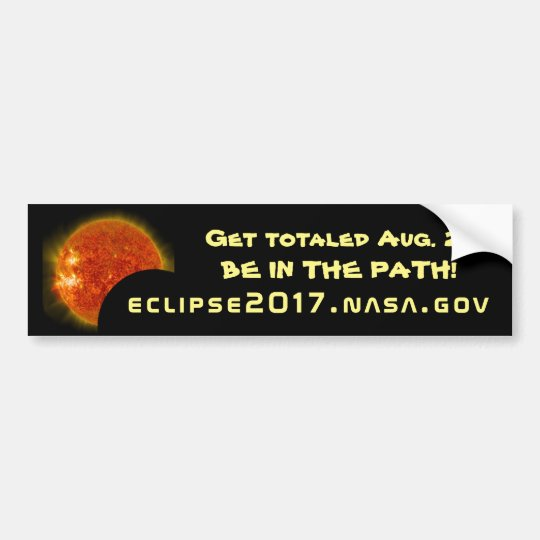 Get totalled in the Great American Eclipse of Bumper Sticker