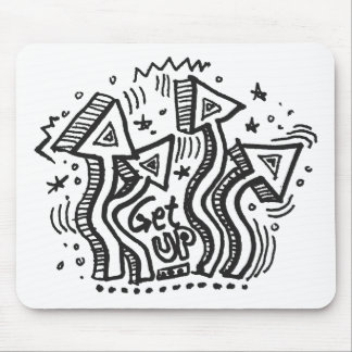 Get Up 1 Mouse Pad
