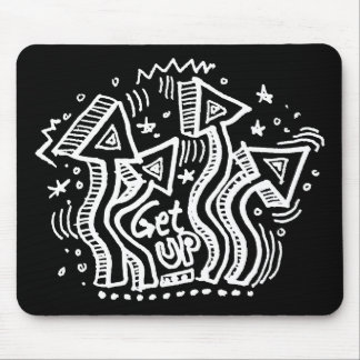 Get Up 2 Mouse Pad