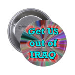 Get US out of IRAQ button