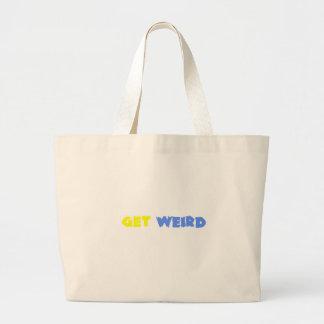 Get Weird Canvas Bags
