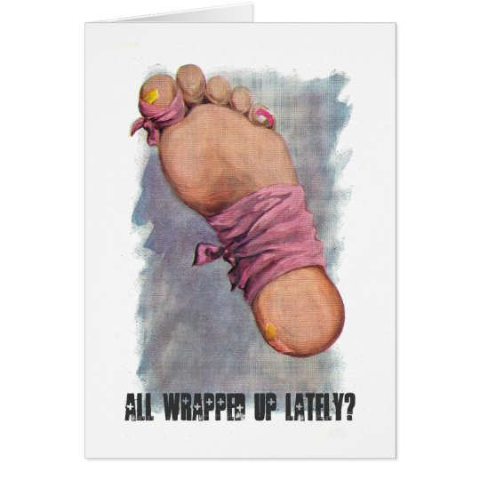 Get Well: All Wrapped Up? Great for after