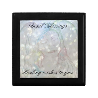 Get Well Angel Blessings Gift Box