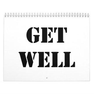 Get Well Calendar