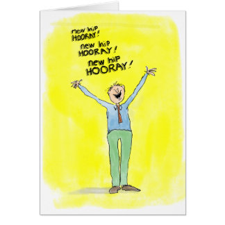 Get Well Card for Hip Replacement Surgery