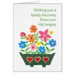 Get Well Card - Hip Surgery