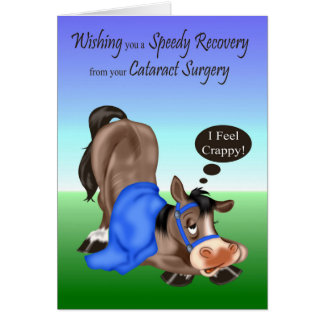 Get Well, Cataract Surgery greeting card