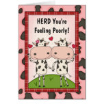 Get Well - Cows
