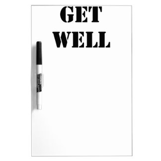 Get Well Dry Erase Whiteboards