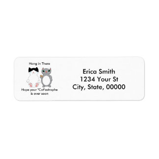 Get Well Encouragement Kitty Cats Personalise