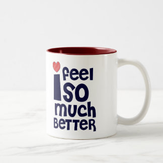 Get Well Gifts, T-shirts | Feel Better Coffee Mug