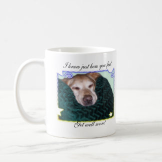 Get well Golden Retriever Mug
