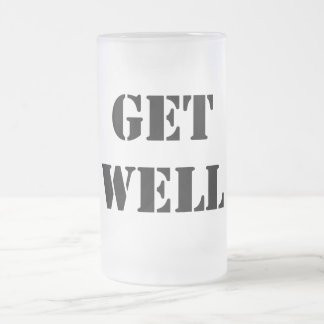Get Well Beer Mug