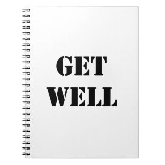 Get Well Note Book