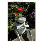 Get Well, Praying Frog Greeting Card