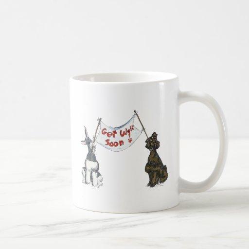 Get  Well Schnauzers Coffee Mug