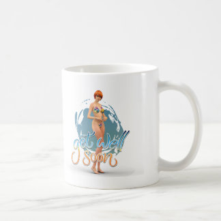 Get Well Soon Aiko Basic White Mug