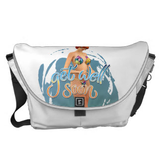 Get Well Soon Aiko Courier Bags