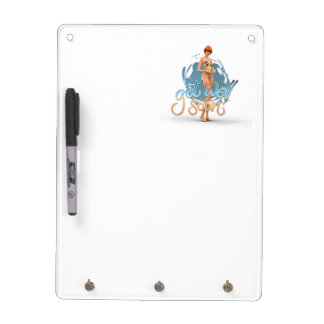 Get Well Soon Aiko Dry Erase White Board