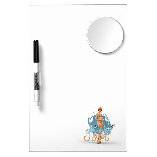 Get Well Soon Aiko Dry Erase Whiteboards