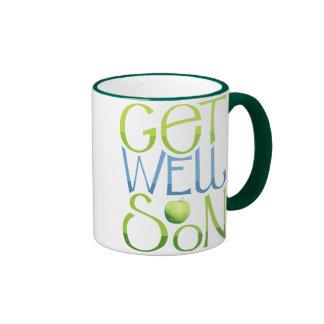 Get Well Soon Apple Mug