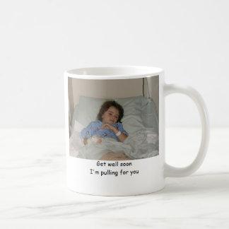 Get Well Soon Basic White Mug