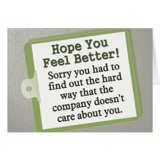 Get Well Soon! Cards