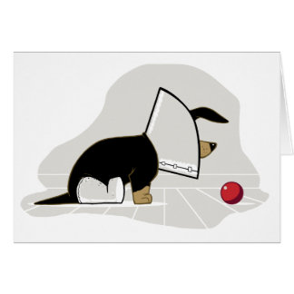 Get Well Soon - Cone of Shame Card