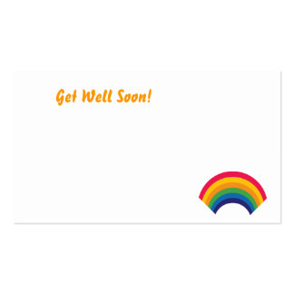 Get Well Soon!-Customize Pack Of Standard Business Cards