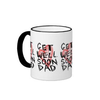 Get well soon dad mugs