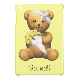 Get well soon Ill Teddy Bear Case For The iPad Mini