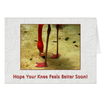 Get Well Soon Knee Surgery Card