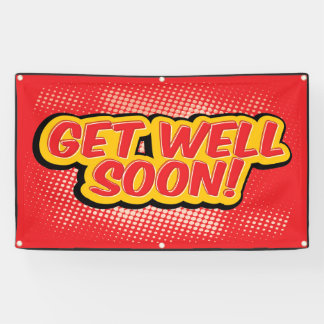 Get Well Soon red