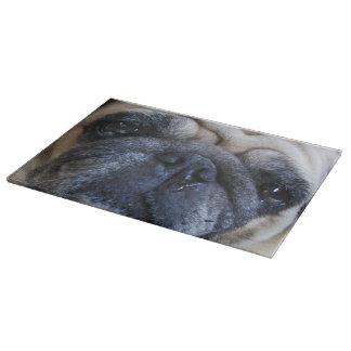 Get Well Soon Sick Pug Dog Cutting Board