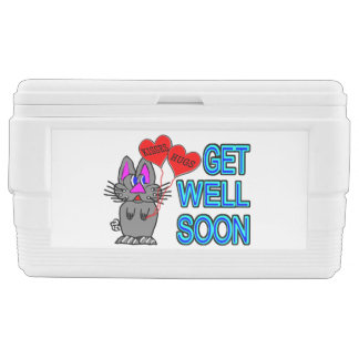 Get Well Soon With Bunny And Hugs & Kisses Cooler