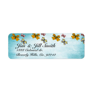 Get Well Water Pond Set Return Address Label