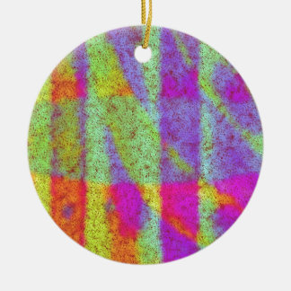 Get Your Abstract On Christmas Ornament