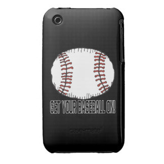 Get Your Baseball On iPhone 3 Case-Mate Case