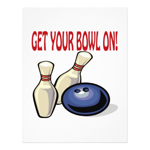 Get Your Bowl On Flyers