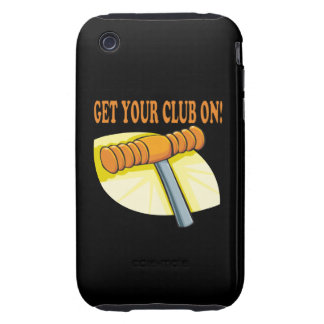 Get Your Club On Tough iPhone 3 Cover