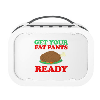 Get your fat pants ready -- Holiday Humor Lunchboxes