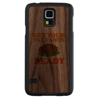 Get your fat pants ready - Holiday Humor Walnut Galaxy S5 Case