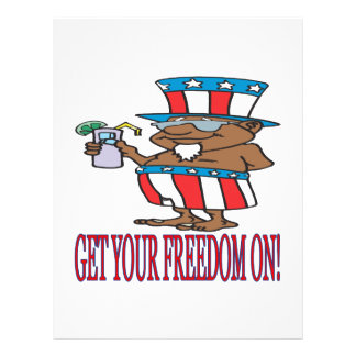 Get Your Freedom On Full Color Flyer