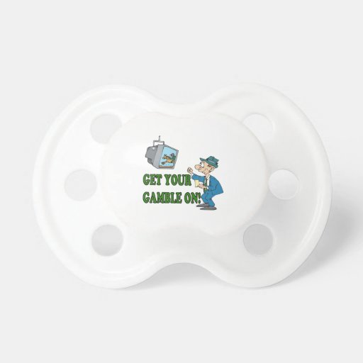 Get Your Gamble On 2 Baby Pacifier