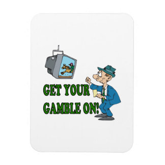 Get Your Gamble On 2 Magnet