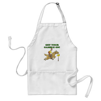 Get Your Gamble On Adult Apron
