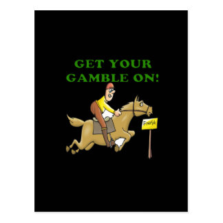 Get Your Gamble On Postcard