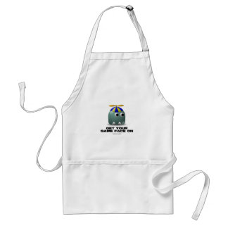 Get Your Game Face On Geek Standard Apron