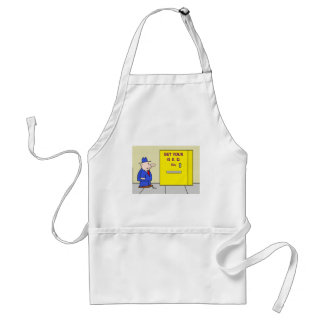 get your ged vending machine standard apron