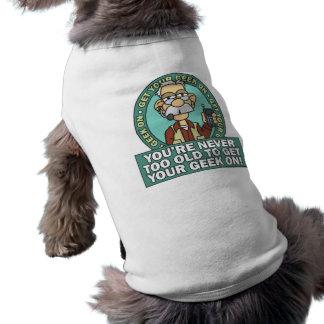 Get Your Geek On Dog Shirt